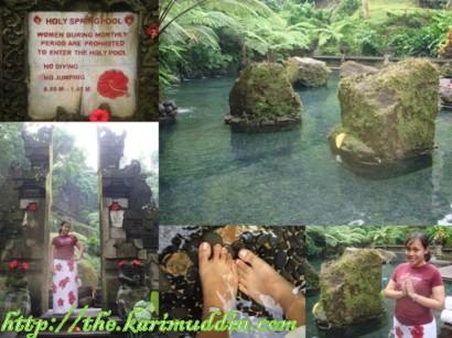 holy spring pool
