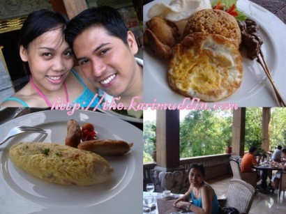 Breakfast di hotel..