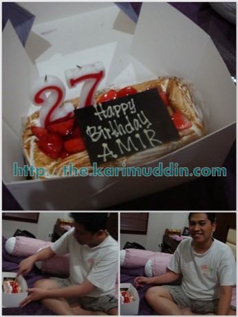 b'day cake for hubby
