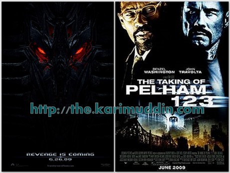 transformers and taking of Pelham 1 2 3