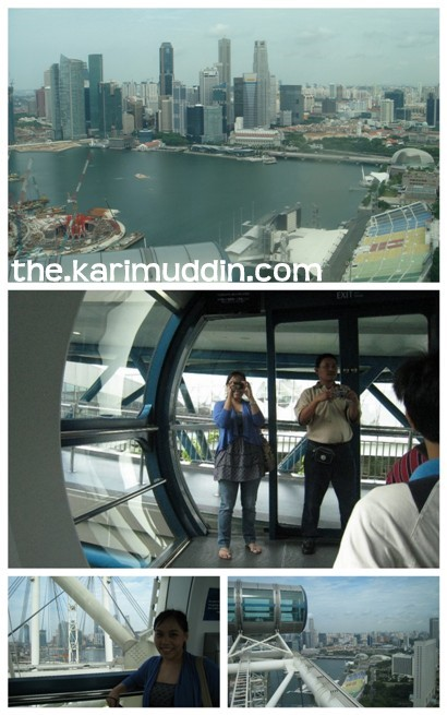 at Singapore Flyer..
