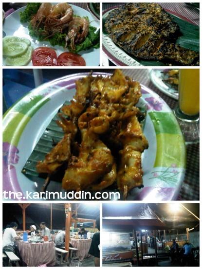 Seafood Bakar
