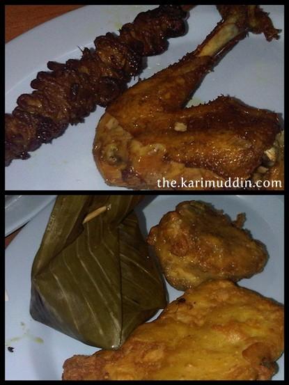 Makanan di Bakul Tukul