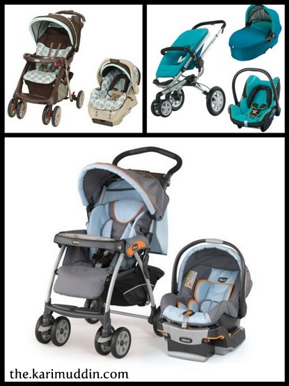 Stroller-Carset : Graco, Quinny, Chicco