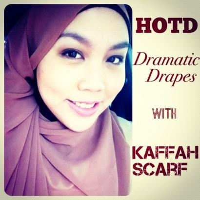 Ini lihat aja beberapa Hijab Of The Day (HOTD) aku yang pakai Kaffah