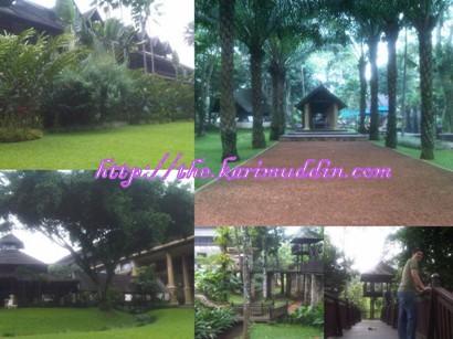 Novotel Bogor yang Hijauu..