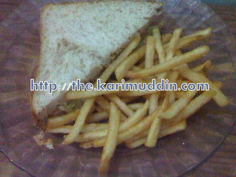 sandwich tuna pedas