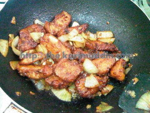 Ayam Tepung Goreng Madu