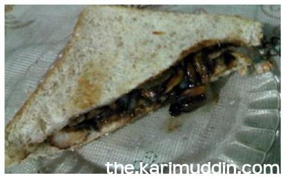 Sandwich Ayam Teriyaki