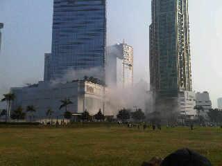 Explosions at Mega Kuningan Jakarta