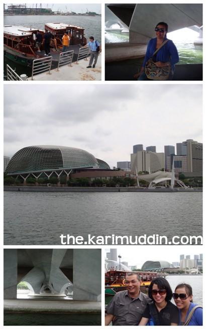 on Singapore River Cruise
