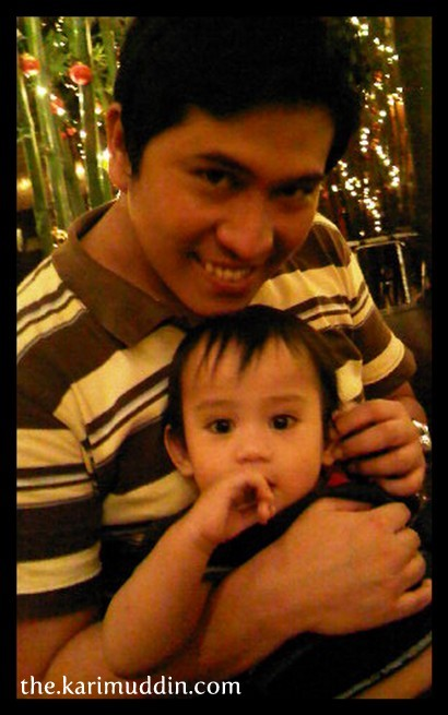 with Kevin, cutest nephew ever.. :)