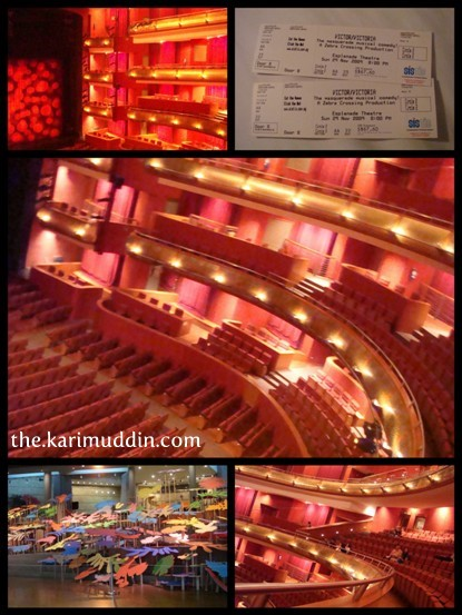 Esplanade Theater Hall