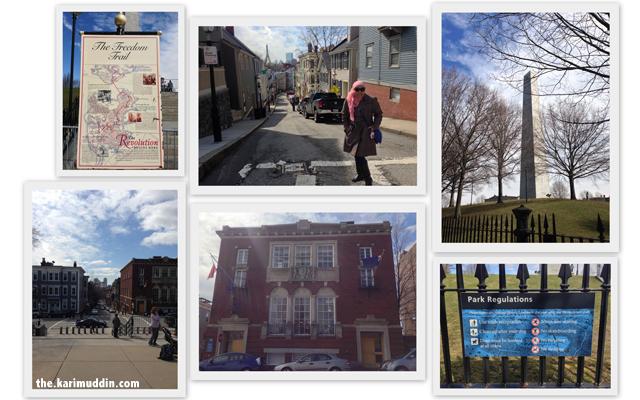 Bunker Hill and Boston Harbor
