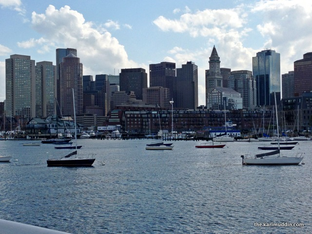 Boston from Ferry Boat