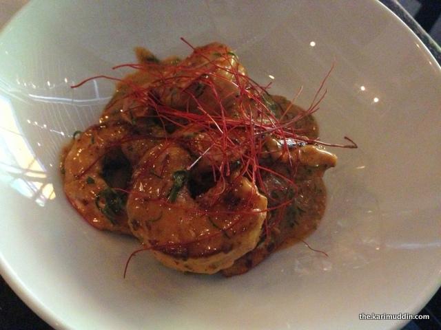 Griddle Garlic Shrimp