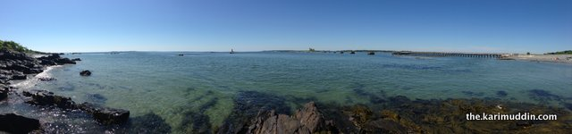View from Fort McClary State Park